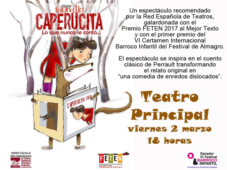 Tarjeta FB1 – Caperucita
