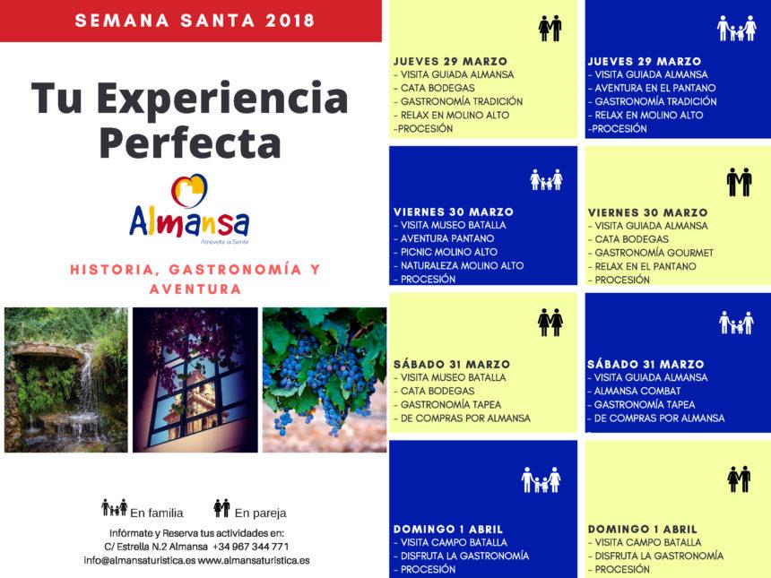 Turismo en Almansa Semana Santa 2018