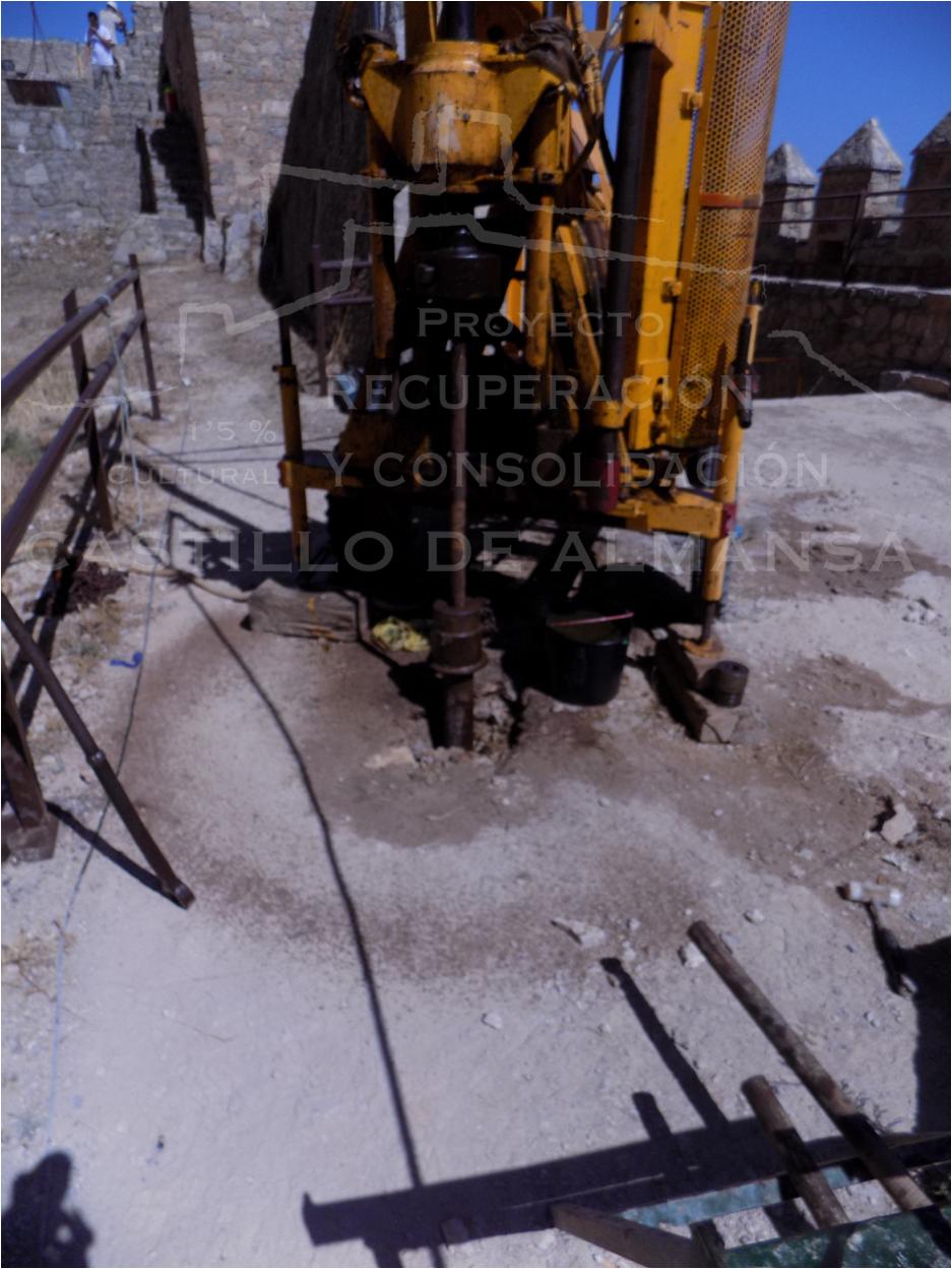 1. Perforaciones realizadas conforme al Estudio Geotécnico