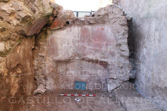 Excavación arqueológica en el Castillo de Almansa