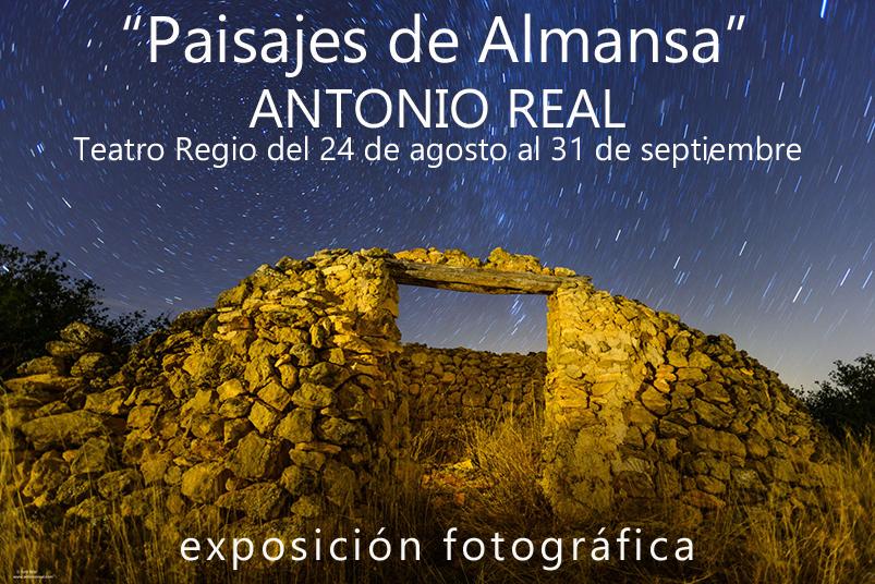 Paisaje verde de primavera. Sierra de El Mugrón. Almansa. Albacete