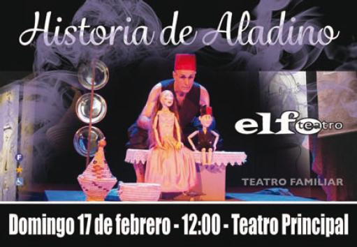 Tarjeta FB1 – Historia de Aladino