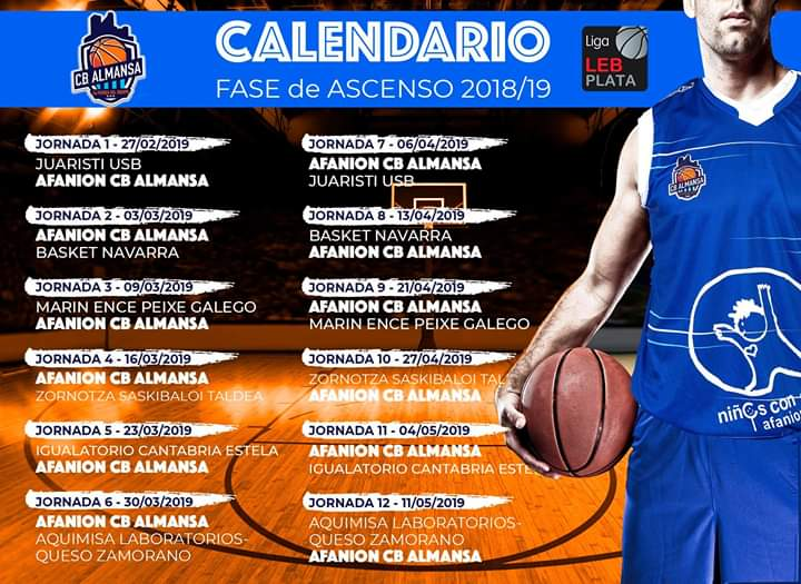 BALONCESTO FASE ASCENSO 18-19