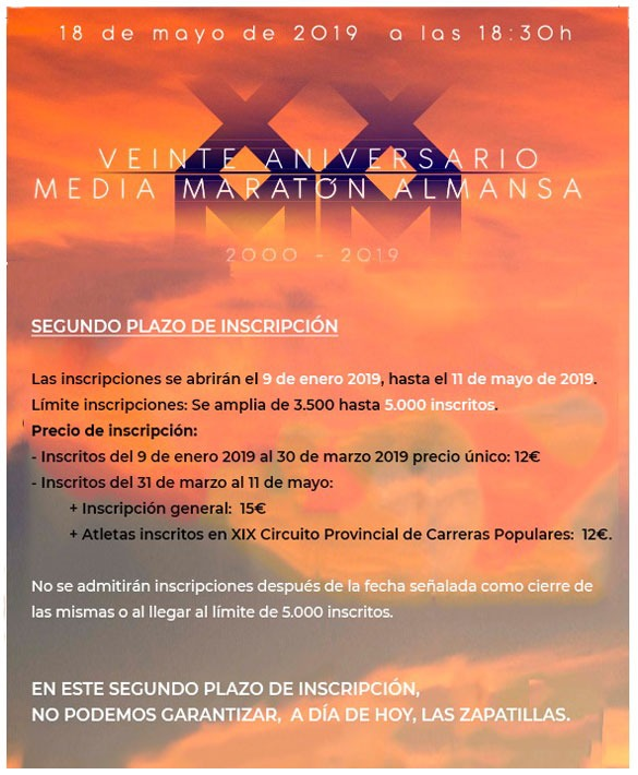 MEDIA MARATON ALMANSA 2019-2