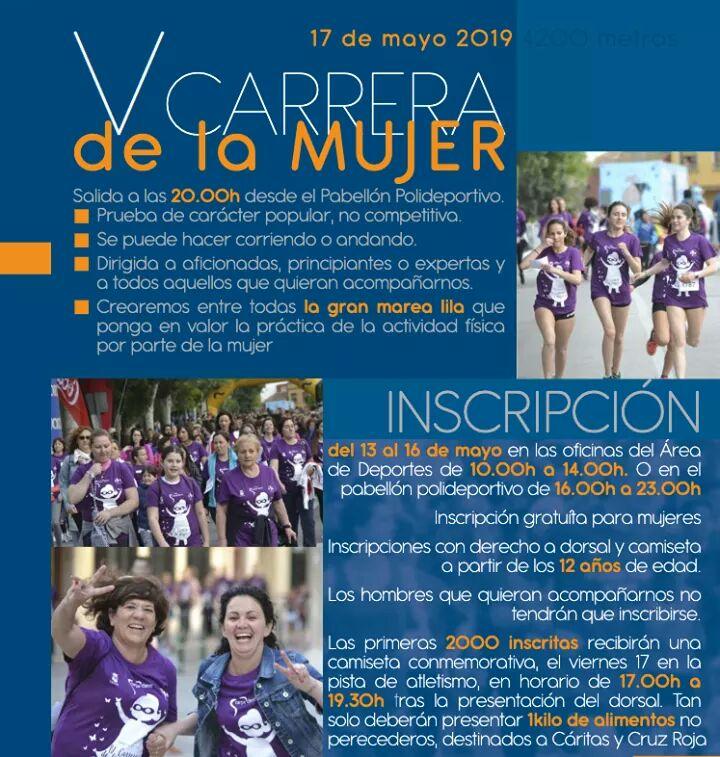 CARRERA DE LA MUJER MAYO 2019