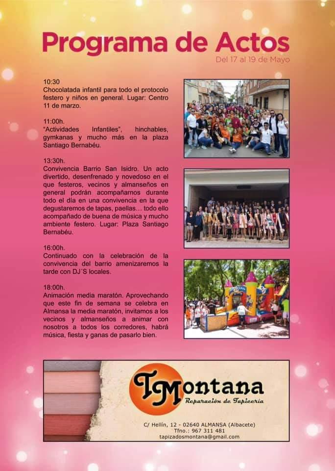 Fiestas San Isidro 2019