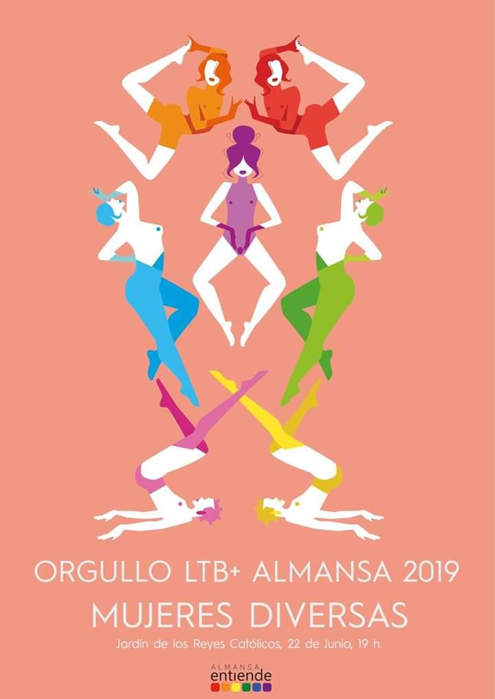 CARTEL ORGULLO ALMANSA 2019