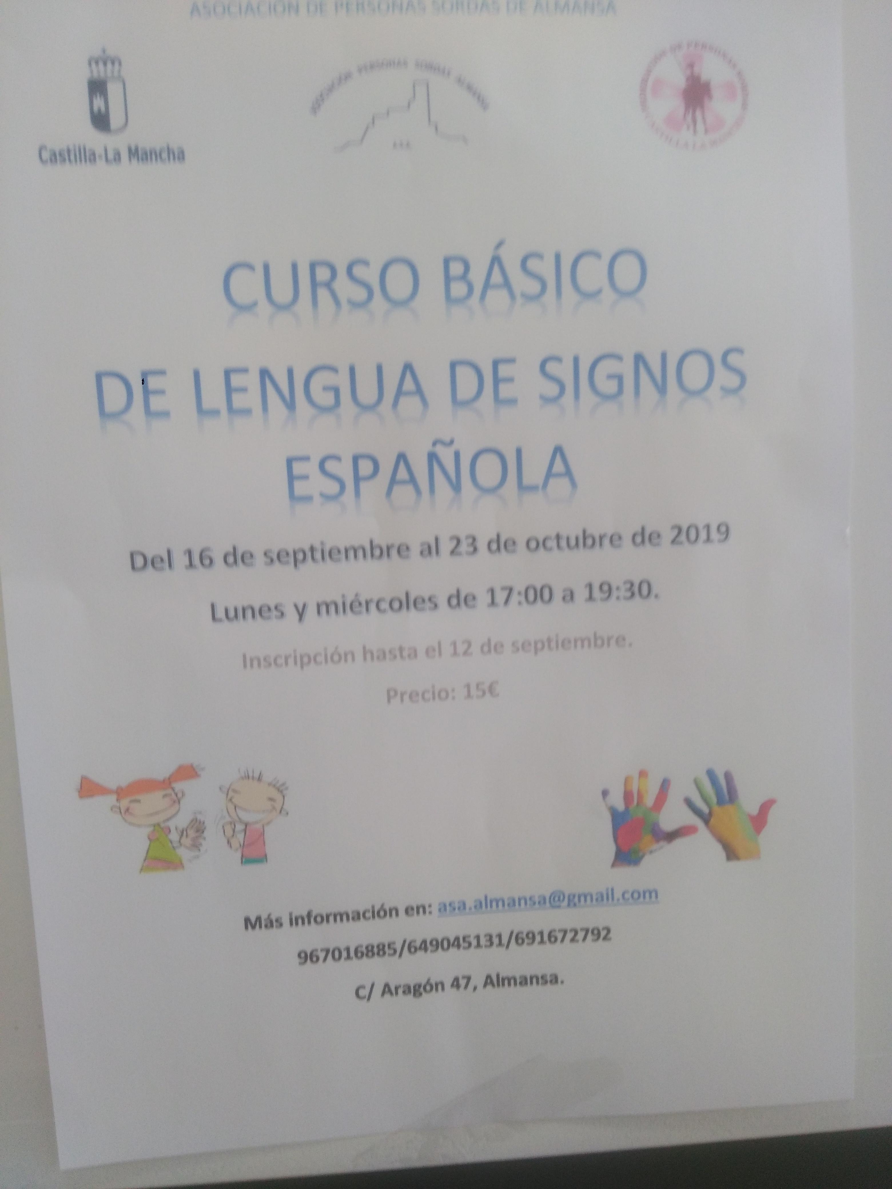 curso lenguaje signos